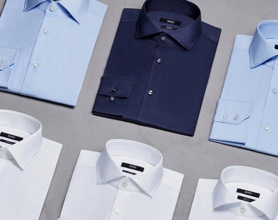 Escolha a camisa certa para a ocasião certa - Viacelas - Hugo Boss e ... eda20f5c10